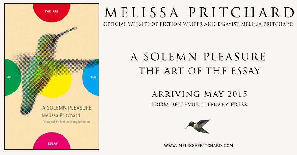 Melissa Pritchard Official Website Of Fiction Writer And border=